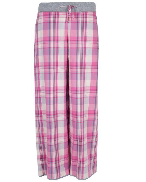 Isabel Lightly Brushed Check Pyjama Pant