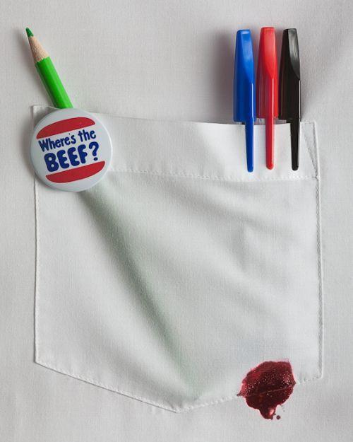 Enlever les taches d'encres sur les vêtements avec du dentifrice