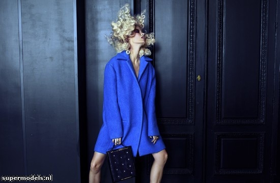 Caroline Winberg in 'Electric Blue' - Photographed by Martin Lidell (Flair Germany November 2012)    Complete shoot after the click...