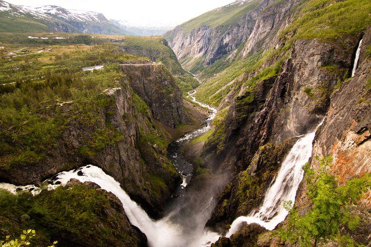 Vøringsfossen, une cascade près du Hardangerfjord