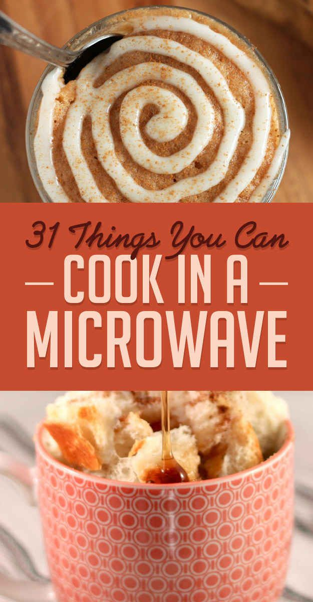 31 Microwave Recipes That Are Borderline Genius