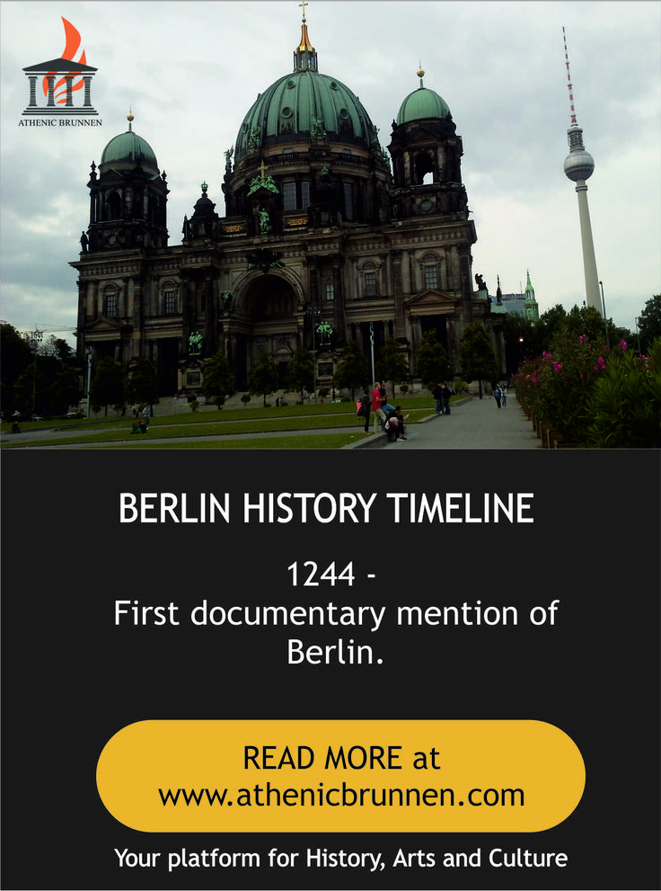 Get surprising facts about History of Germany and Berlin Wall from Athenic Brunnen with best places to visit in Berlin. #History_of_Germany #Berlin_Wall #Athenic_Brunnen #Places_to_visit_in_Berlin #Berlin_Attractions #Walking_Tours_in_Berlin #Berlin_Guided_Tours #Berlin_Sightseeing  https://goo.gl/n1aE5O