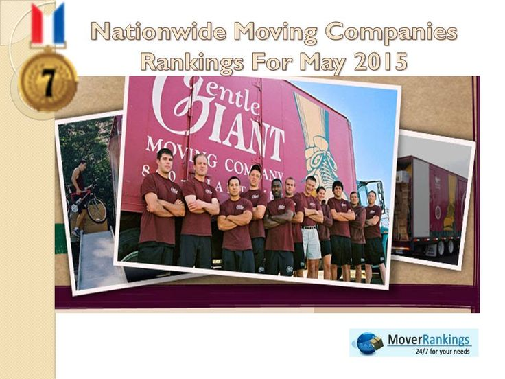Congrats to the entire team !!! Gentle Giant Moving Company has been selected as the 7th best #movingcompany over 3000 companies nationwide. We sincerely congratulate ! Gentle Giant Moving Company for their wonderful performance.  For more details visit: http://www.moverrankings.com/nationwide-rankings-may-2015.php  #moverrankings #movingawards