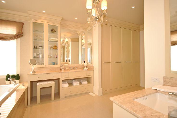 17 best images about salle de bain cr ations dls on - Salle de bain couleur sable ...