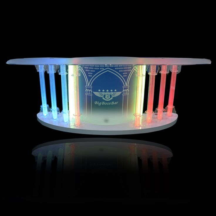 This Is A Church Pulpit Made Of Acrylic With Led Light