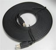 HDMI CABLE FLAT (v1.4 PEFECT FOR SLIM LINE TVS) 2 Metres