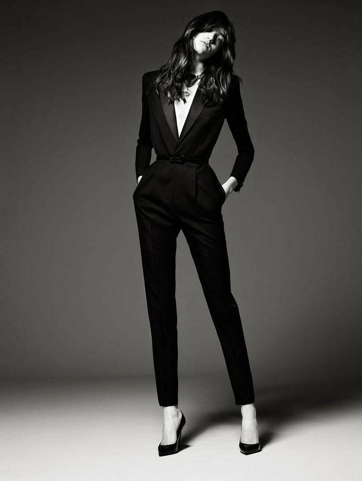 34 best Ladies black tie suits images on Pinterest   Black people ...