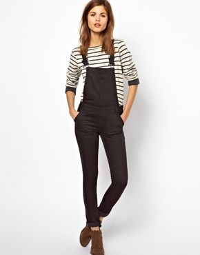 I still can't believe that overalls are fashionable again, but I sure do want a pair! <3