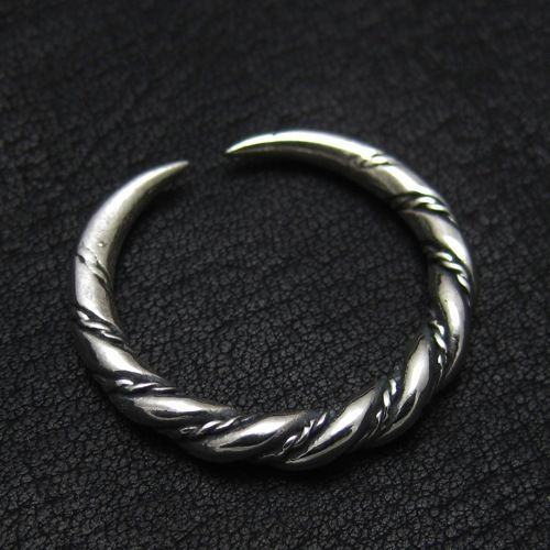 Silver Viking ring from Gotland. Reenactment. Medieval. Norse. Sweden. SCA.