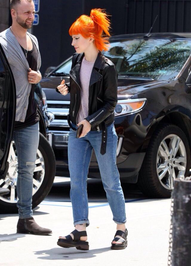 Hayley Williams and Brian J O'Connor out and about in Los Angeles, CA on May 23rd, 2015