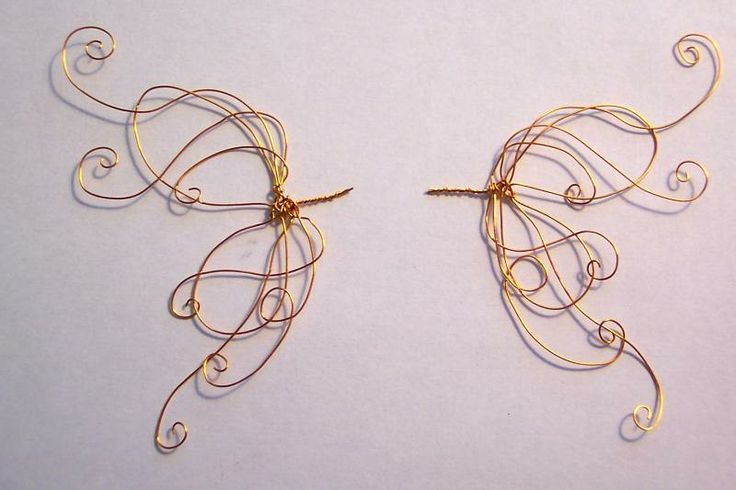 Wings, Wire and Angel wings on Pinterest