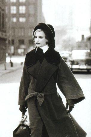 Nadja Auermann, Amber Valletta & Bridget Hall | Photography by Peter Lindbergh | For Harper's Bazaar Magazine US | November 1993