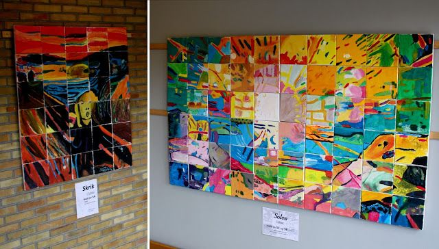 Kunst og håndverk på Fjellhamar skole