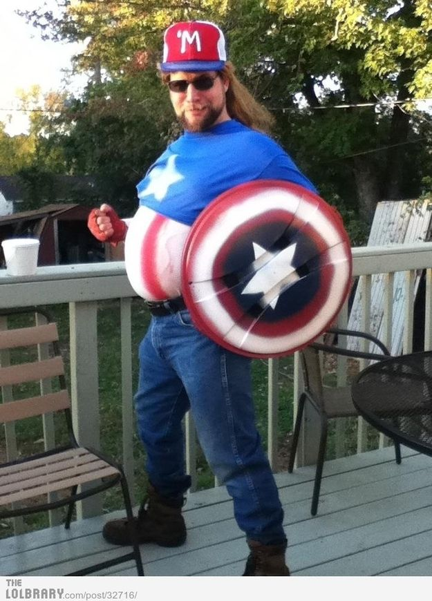 This guy who just became Captain 'Murica.