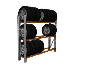 Tyre Rack - Macrack Australia, Mansfield Qld. Call on 1800 048 821 for more info and free design and quote service.