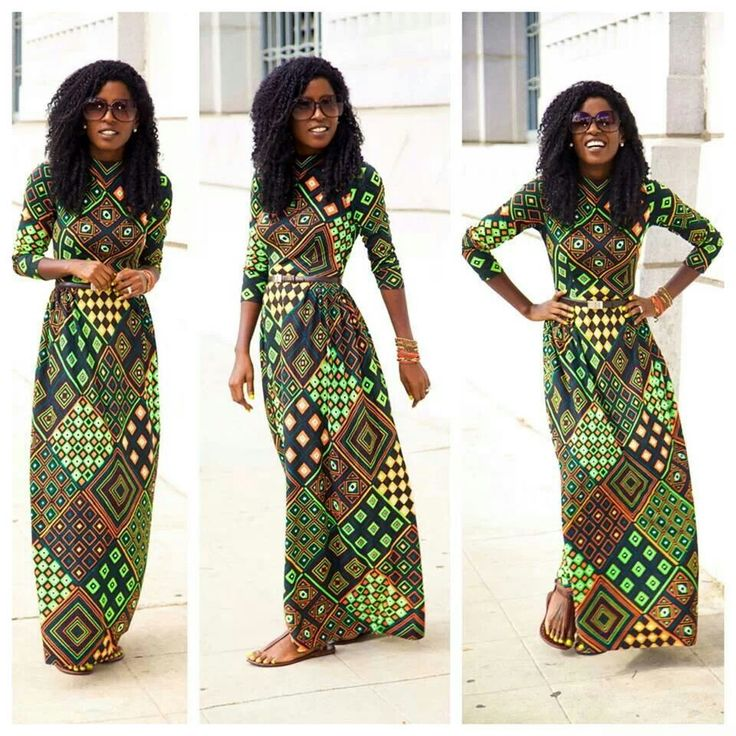 African Dress # Chitenge