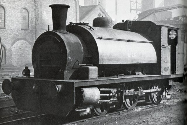 "Avonside 0-6-0 ""Sheepbridge"" after Sheepbridge Iron Works in Kent where it was photographed on 5 March 1961."