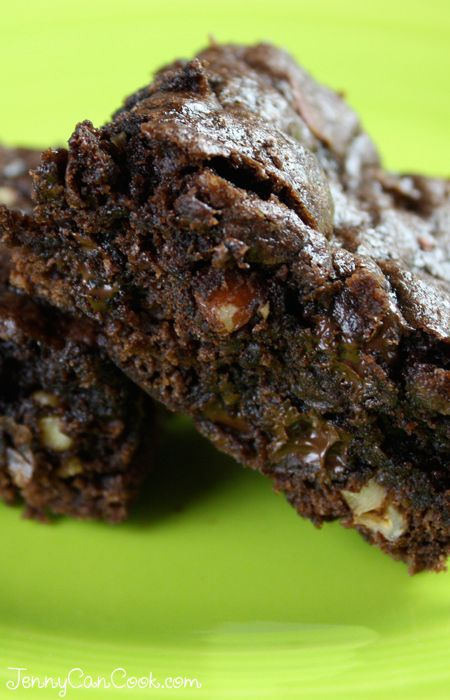 Whole Wheat Walnut Cocoa Brownies Recipe — Dishmaps
