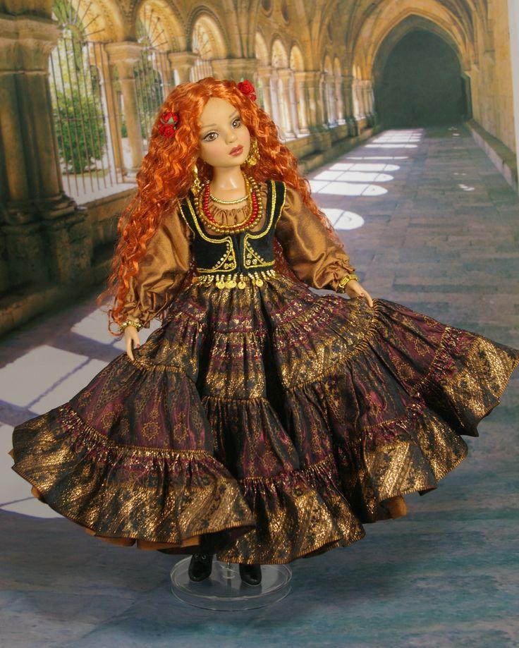 Lizette in Gypsy by Marian Jasper