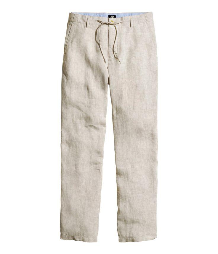Linen pants  | H&M For Men