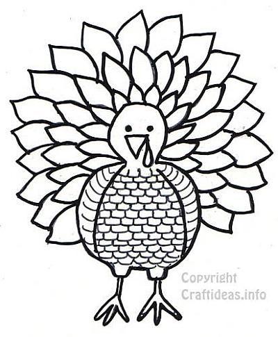 Best  Printable Turkey Template Ideas On   Turkey