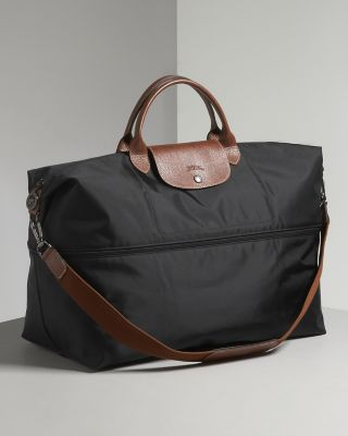 Love the zippered option -- Billy Blue Longchamp Le Pliage Expandable Travel Duffel Weekender | Bloomingdale's