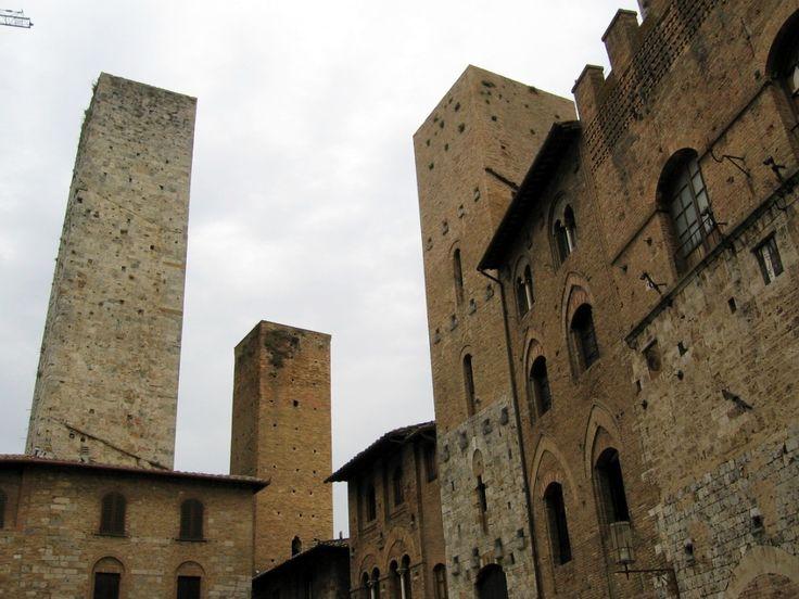 San Gimignano: towers - Photo: Beata B.
