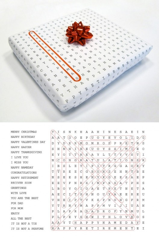 Multi-occasion wrapping paper. Encircle which applies.