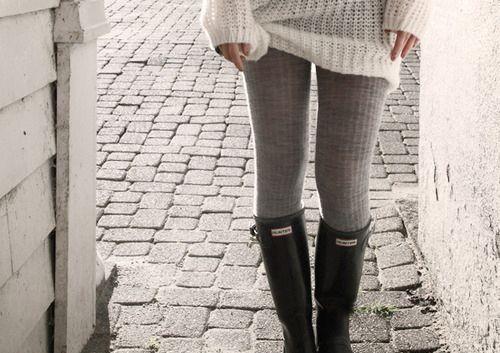 .Rainboots, Hunter Boots, Fashion, Style, Hunters Rain Boots, Over Sweaters, Hunters Boots, Fall Outfit, Cozy Sweaters