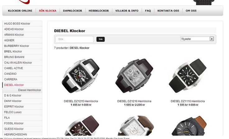 Köp dina Armbandsur hos oss på KlockTrend - Stort urval av MärkesKlockor. Spara upp till 40% Spara upp till 50% och köp Märkes klockor på nätet. Stort utbud av    damklockor & herrklockor för snabb leverans. Garanti & Äkthetsintyg  damklockor,herrklockor.http://www.klocktrend.se