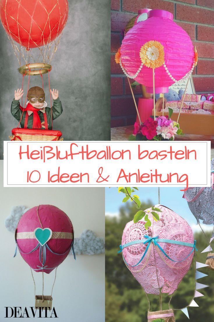 Heißluftballons sind nicht nur für die Kinder faszinierend. Auch Erwachsene finden die mächtigen, bunten Ballons, die sich elegant heben, bezaubernd.
