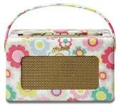 Roberts DAB radio. Like kitchenaid, so many cool colours to choose from and I prefer the pastel ones, although this pattern is quite cool.