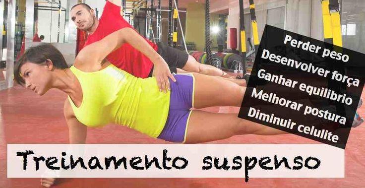Exercícios de treinamento suspenso para fazer em casa
