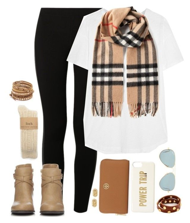 """goals"" by conleighh ❤ liked on Polyvore featuring NIKE, Madewell, Wallis, Tory Burch, Kate Spade, Ray-Ban, Kendra Scott, Chan Luu and Burberry"