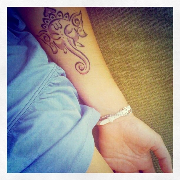 my ganesha tattoo 2012 :)