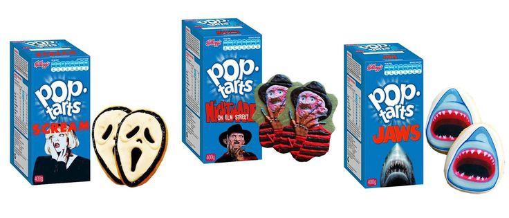 """""""Τρομερά"""" γλυκά: pop tarts βγαλμένες από ταινίες τρόμου"""