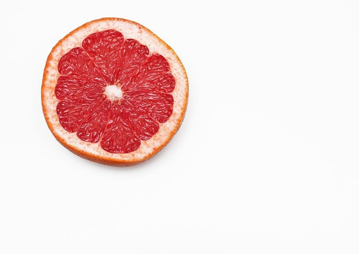 Grapefruit section