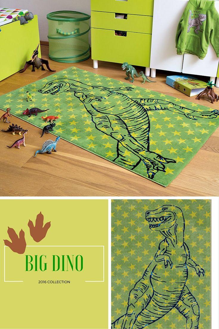 Superstoer #dinosaurus vloerkleed voor alle kids die dol zijn op dino's! Met deze topper van Arte Espina creëer je een echte #dinokamer!