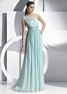 греческое платье с одной лямкой на плече