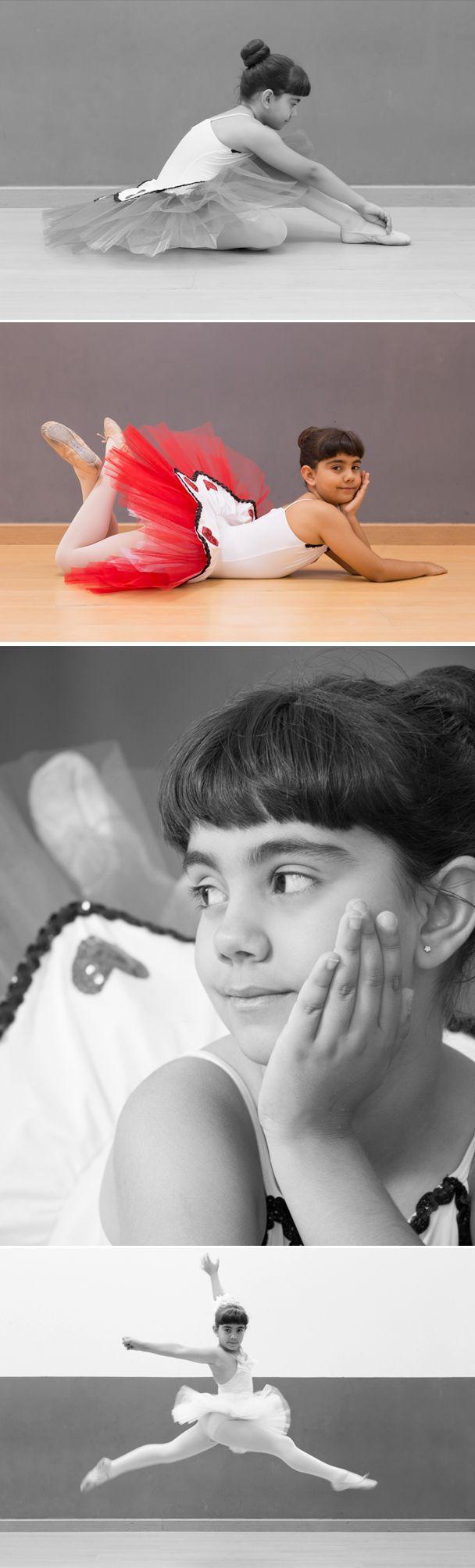 Ballet, niños, fotografía