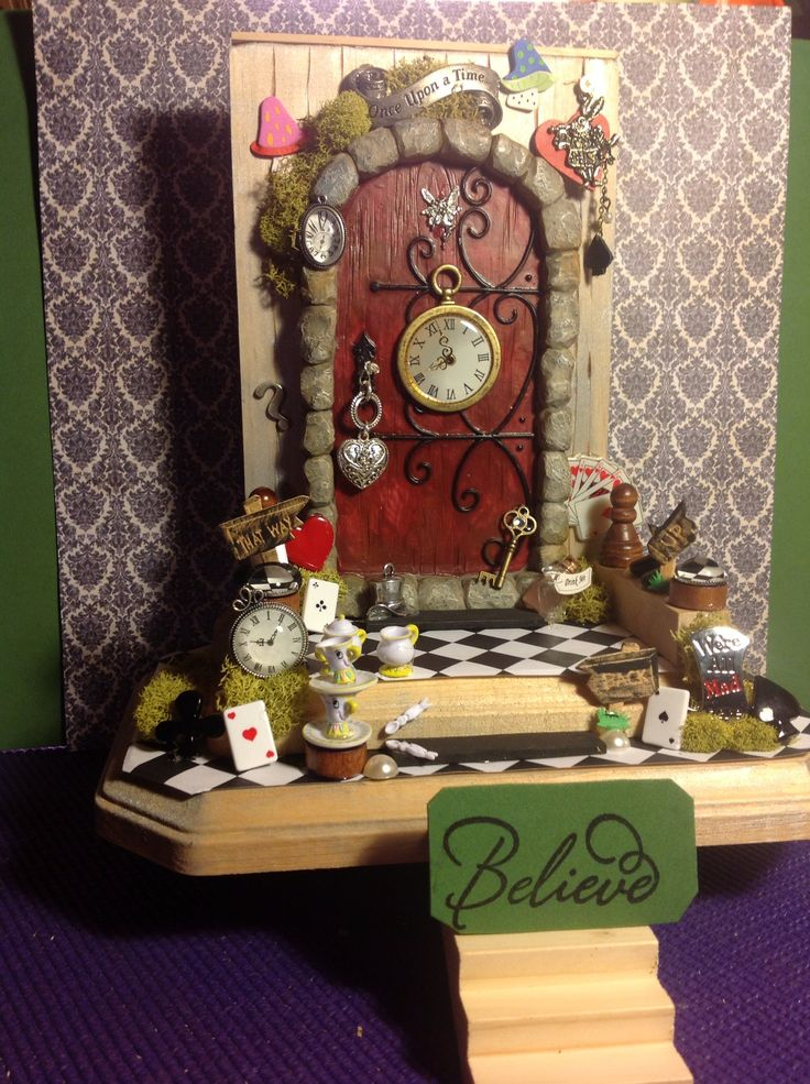 367 Best Fairy Doors Images On Pinterest Fairy Gardening Gnome Garden And House Of Hades