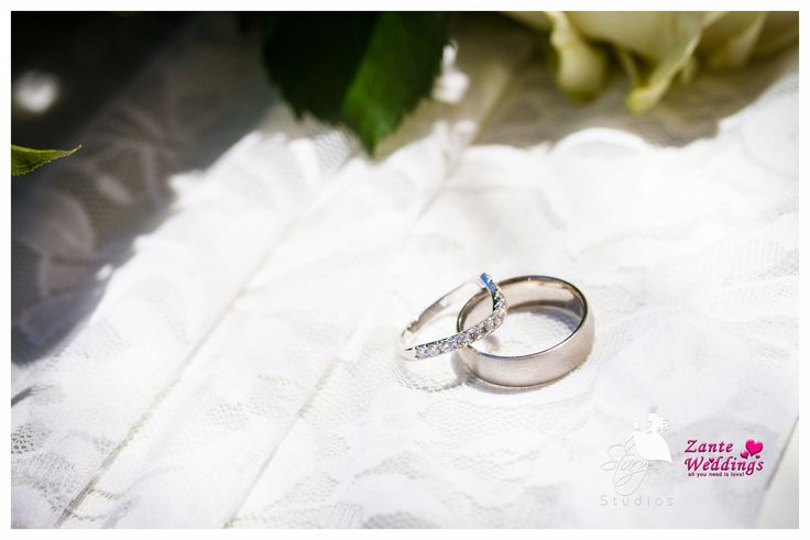 His and Hers wedding rings!