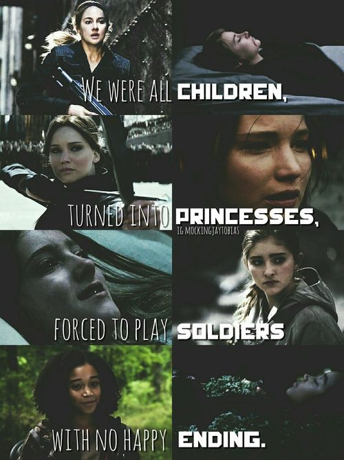 """""""Nous ne sommes que des enfants déguisées en princesse, forcer de jouer les soldats sans fin heureuse"""""""