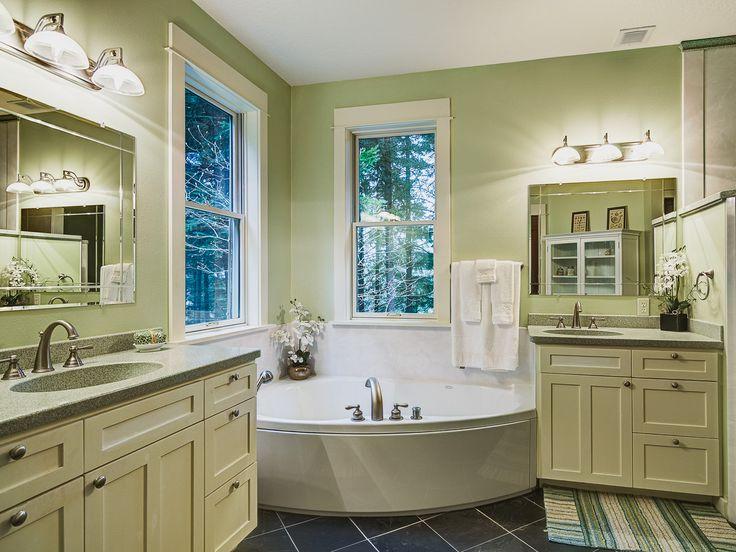 General Contractors Kitchen Remodeling Portland OR :: Traditional bathroom  remodel with custom wood