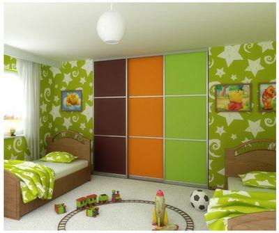 colour scheme brown green orange