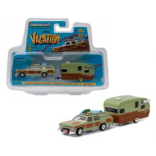 National Lampoon 1:64 Scale Vehicle Trailer Set - Greenlight Collectibles - National Lampoon - Vehicles: Die-Cast at Entertainment Earth