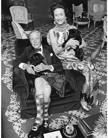 Wallis Simpson and Edward.
