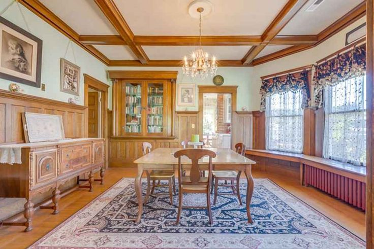 Historic 1910 home with modern conveniences. Stunning original hardwood floors, paneling & built ins plus other period details still intact.