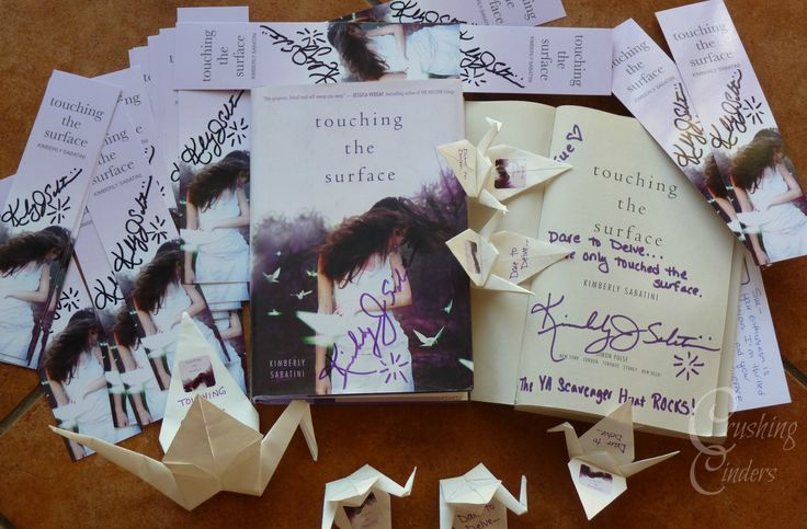 My Touching the Surface Win! http://crushingcinders.com/my-touching-the-surface-by-kimberly-sabatini-win/