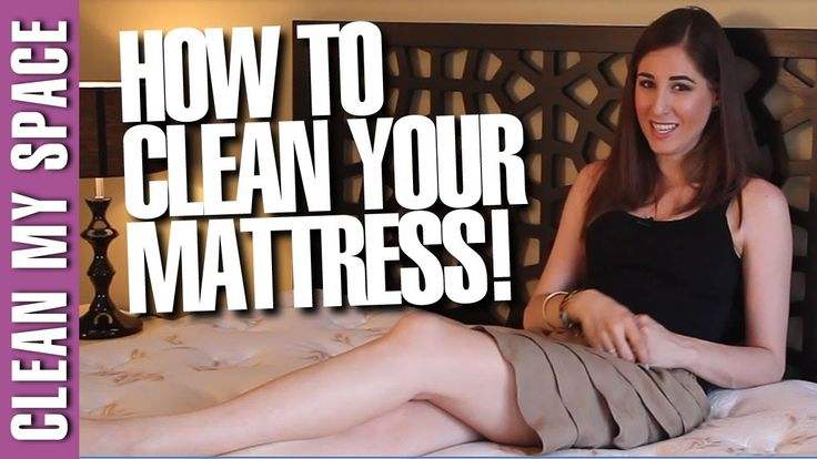 Most people sweat a cup's worth of perspiration every night. Watch this video from Clean My Space to learn how to keep your mattress clean! https://youtu.be/_t7fWxgVkcE